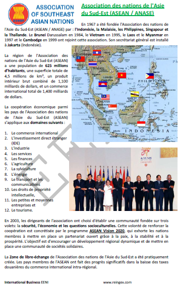 Association des nations de l'Asie du Sud-Est (ASEAN)