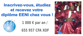 Étudiant africain master en commerce international