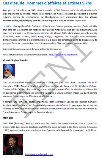 Homme d'affaires sikhs (Doctorat)