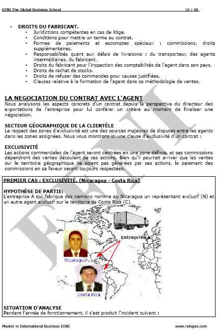 exercice de marketing international pdf