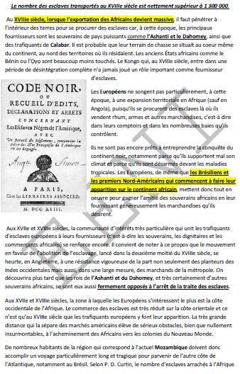 Trata de negros Esclavitud
